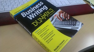 「Business Writing For Dummies」出版に貢献しました。