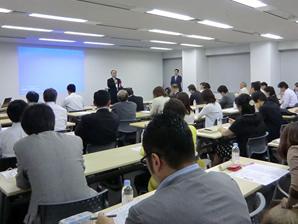 5月30日「ちきゅう・村塾(そんじゅく)」開設記念講演・パーティー、盛会でした。